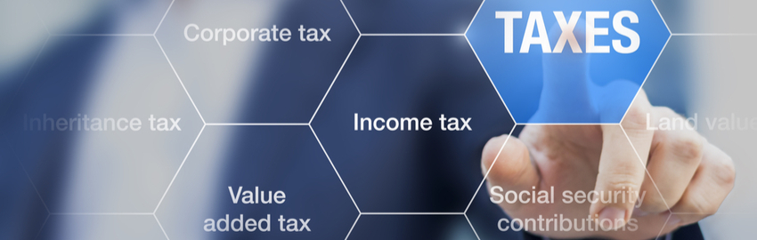 complicated web of different tax types